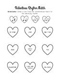 Valentines Rhythm Match (ta, titi, rest)
