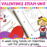 Valentines Science Centers Unit | STEAM Centers for Primary Grades