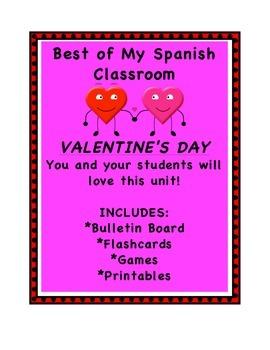 Fun Valentine's SUPER Pack in Spanish-Full of great stuff!