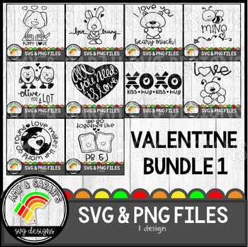 Valentines SVG Bundle 1