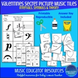 Valentines | Secret Picture Music Tiles | Music Theory | R