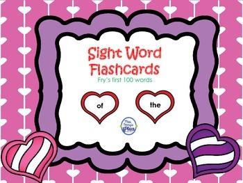 Valentine's Sight Words