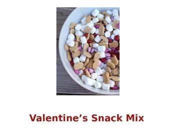 Valentines Snack Mix Recipe