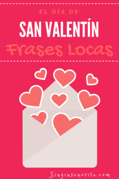 Valentine's Spanish Mad Lib