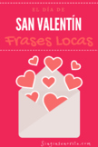 Valentine's Spanish Mad Lib