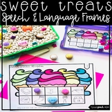 Valentines Speech Therapy: No Prep Articulation and Language Frames