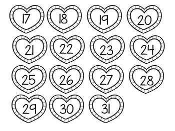 Valentines Spot and Dot the Number!
