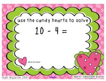 Valentine's Subtraction