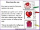 Valentines Syllables Clip Cards