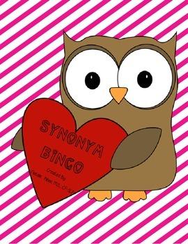 Valentines Synonym Bingo