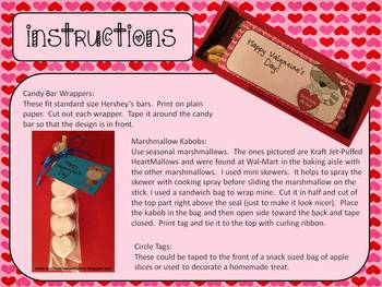 Valentine's Teacher Pack - Candy bar wrappers, valentine's, calendar numbers +