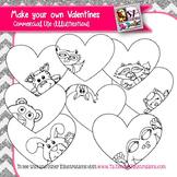 Valentines Templates clip art