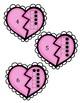 Valentines Tens Frame Match up