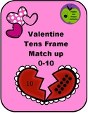 Valentines Tens Frame Match up