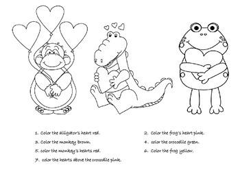 Valentine's Theme Receptive Language Packet