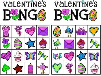 Valentine's Themed BINGO