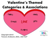 Valentine's Themed Categories & Associations