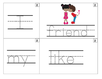 50 FOLLOWERS FREEBIE! Sentence Builder Valentine's Day Theme w/ recording sheet
