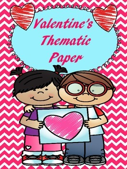 Valentine's Themed Writing Paper