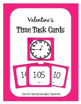 Valentine's Time Task Cards