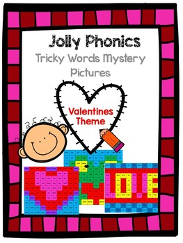 Valentines Tricky Word Mystery Pictures
