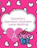 Valentine's Uppercase-Lowercase Letter Matching