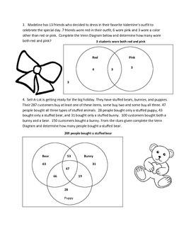 Valentine's Venn Diagrams