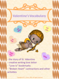 Valentine's Vocabulary Activities Package