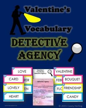 Valentine's Vocabulary Detective Agency