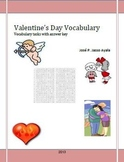 Valentine's Vocabulary