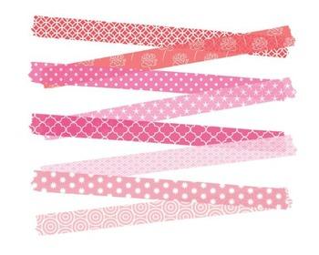 Valentines Washi Tape, Digital Clipart, Valentines, Washi