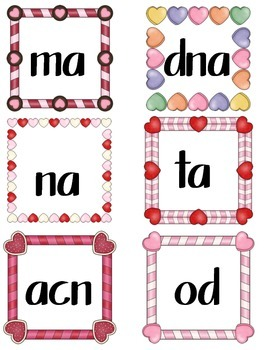 Valentine sight word games and more! Revised