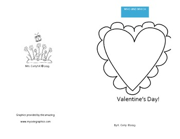 Valentine's Who and Which