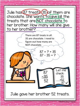 Valentines Word Problems: 4th Grade