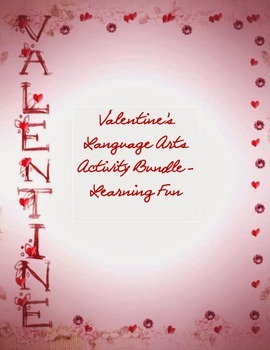 Valentine's Worksheets and Activities