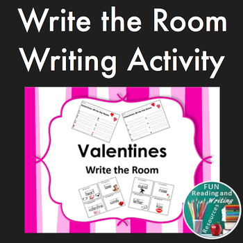 Valentines Write the Room