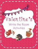 Valentine's Write the Room Activities