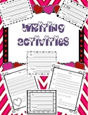 Valentines Writing Activities