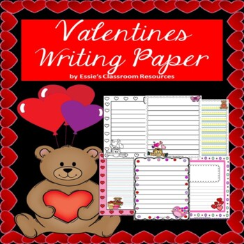 Valentines Writing Paper