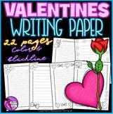Valentine's Writing Paper