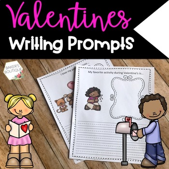 Valentine's Writing Prompts        {20 Prompts}