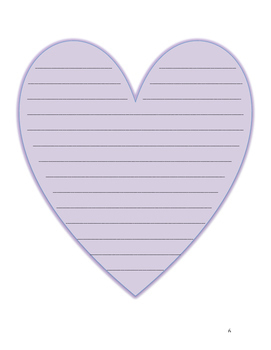Valentine's Writing Stationary FREEBIE