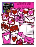 Valentines and Love Notes {Creative Clips Digital Clipart}