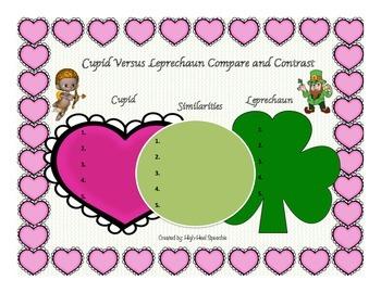 Valentine's and St. Patrick's Day Activity Bundle