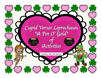 Valentine's and St. Patrick's Day Activity Bundle