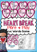 Valentines cvc Words Center