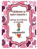 Valentine's day  - Célébrons la Saint-Valentin : lecture et écriture.