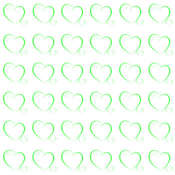 Valentines day - Mothers day - Two lovely hearts (9 PNG files)