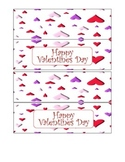 Valentine's day Ziploc Topper