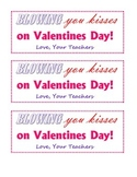 Valentines day bag tags!